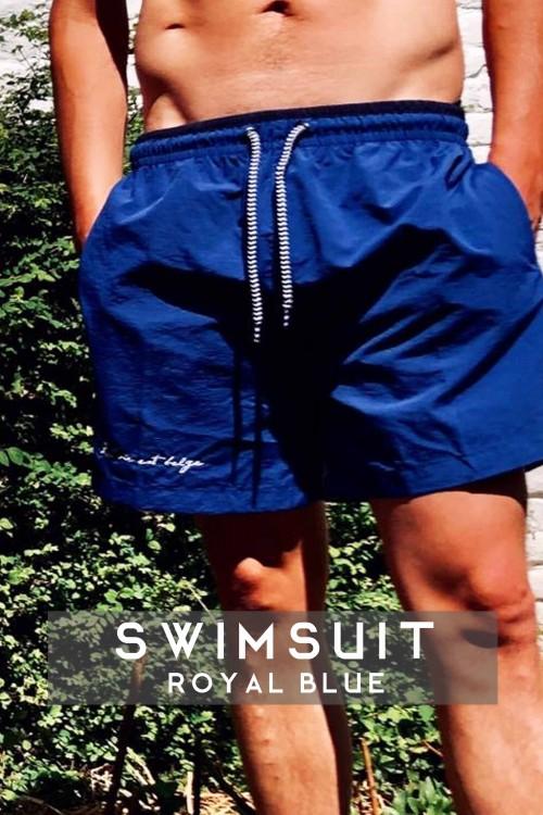 Koningsblauw Zwempak