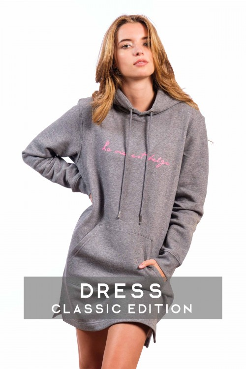 Classic sweat dress  grey  W