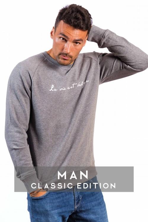 Classic grey sweatshirt M