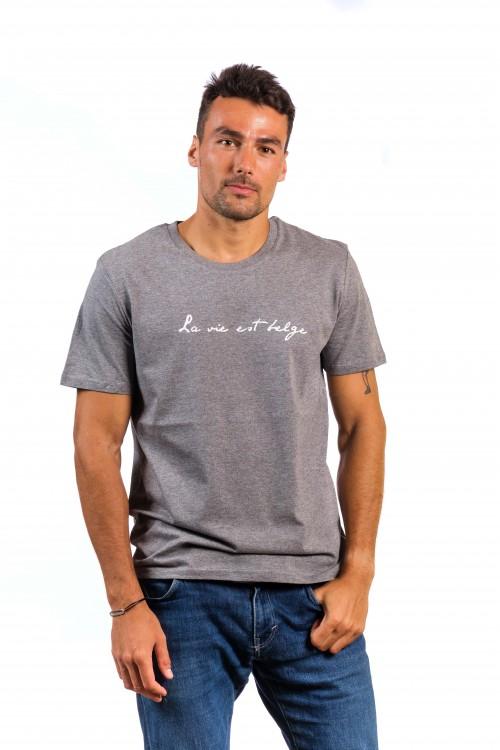 Classic t-shirt heather grey M