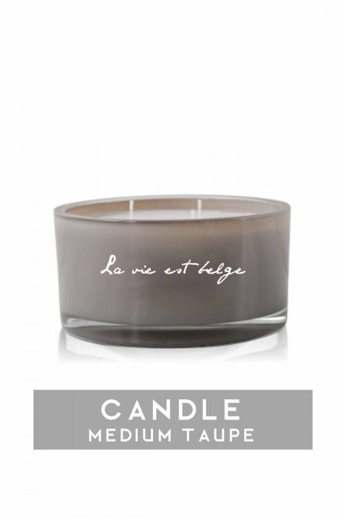 Taupe Candle Medium 660 gr