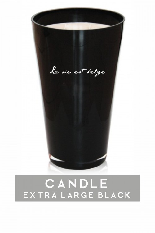 Extra Large black candle...
