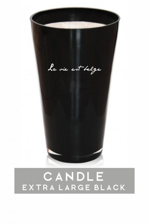 Extra Large black candle...