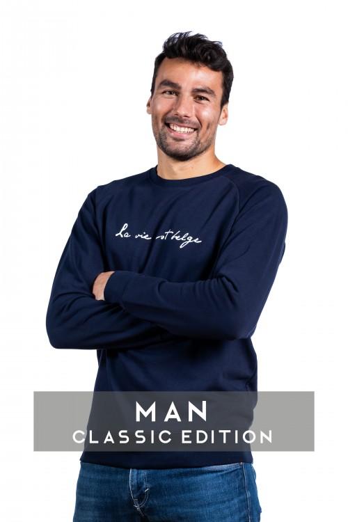 Classic sweatshirt navy M