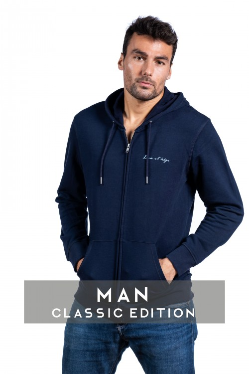 Zip-up sweatshirt Men
