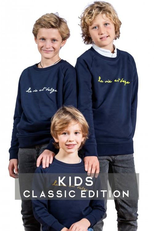 Classic navy sweatshirt K