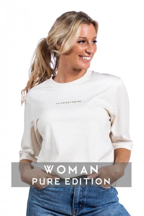 Pure t-shirt natural W