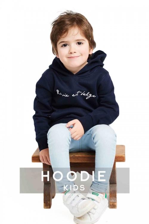 Classic navy hoodie...
