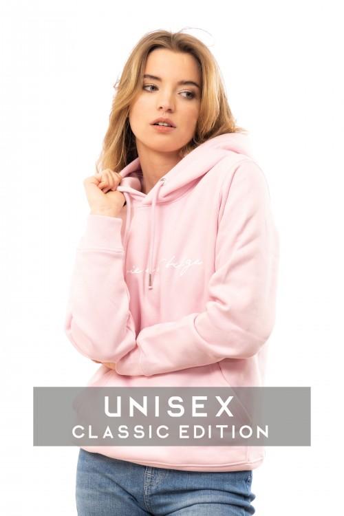 Classic hoodie pink U