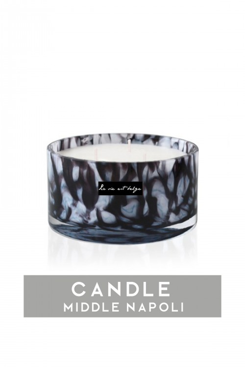 Middle Napoli candle 700gr