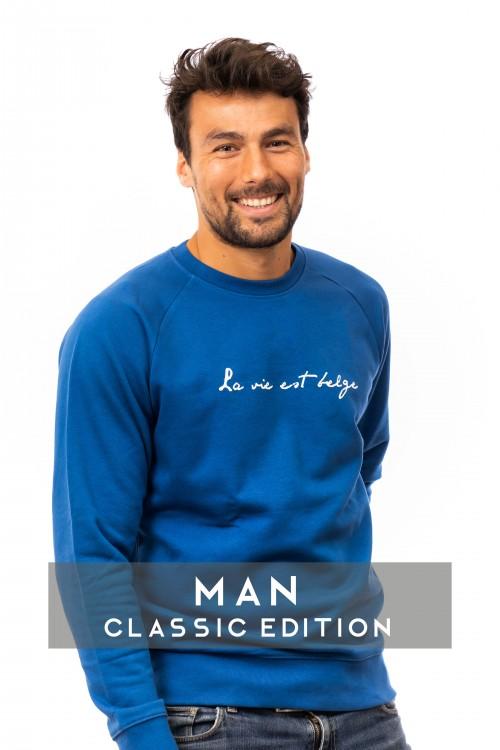 Classic sweatshirt majorelle M