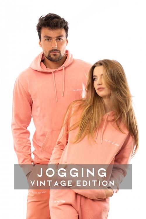 Vintage joggers pants coral U
