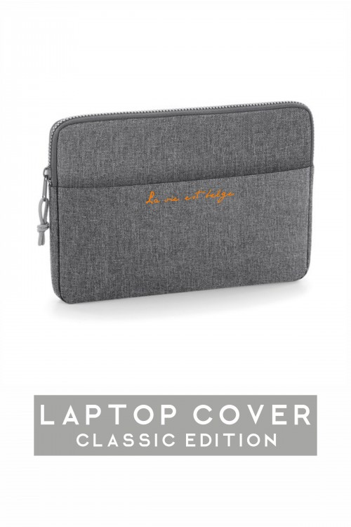 Laptop cover grey
