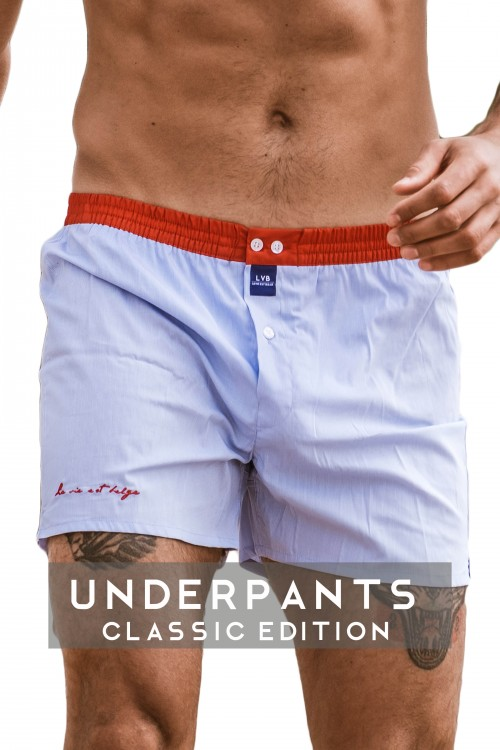 Underpants Vichy/Red